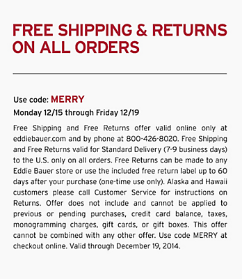 Free Shipping & Returns On Orders. Use code: MERRY.