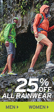 25% Off All Rainwear