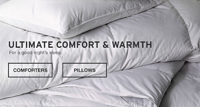 Ultimate comfort and warmth.