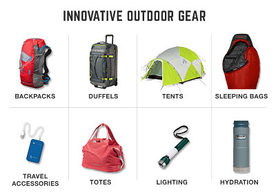 Innovative Outdoor gear.