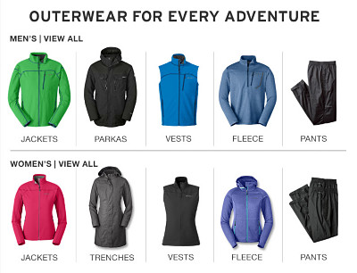 Outerwear for every adventure.