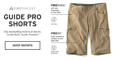 Guide Pro Shorts. Our bestselling technical shorts.