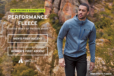 Performance Fleece. Essential layers for the trails ahead.