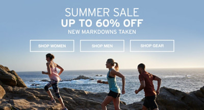 Summer Sale. Up To 60% Off. New Markdowns Taken.