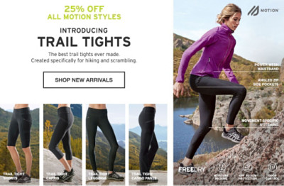 Introducing Trail Tights. The best trail tights ever made. Created specifically for hiking and scrambling.