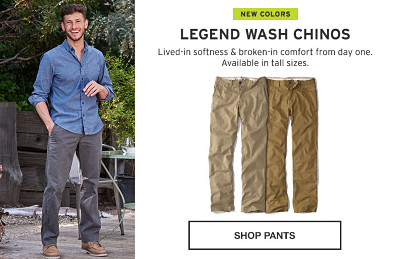 Legend Wash Chinos