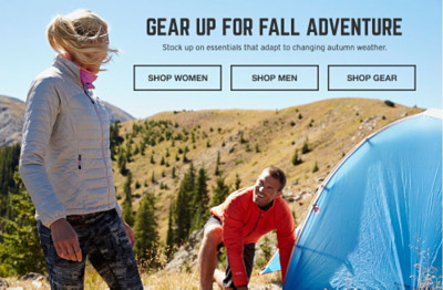 Gear Up For Fall Adventure