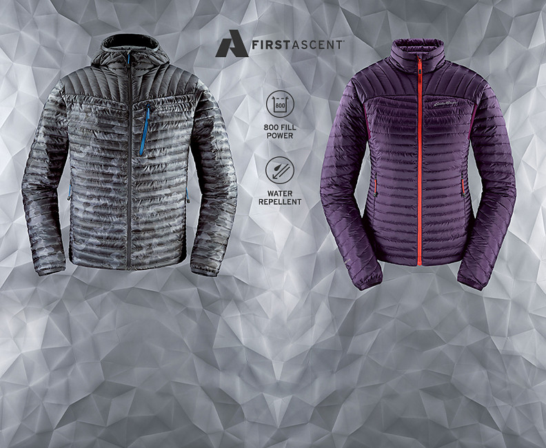 MicroTherm StormDown Jackets