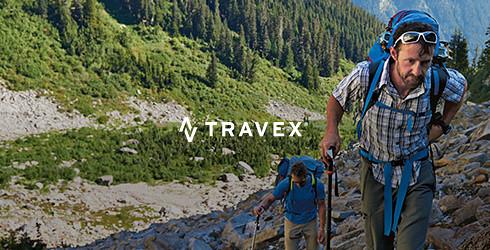 Eddie Bauer alpine guide David Morton on the trail in Washington state