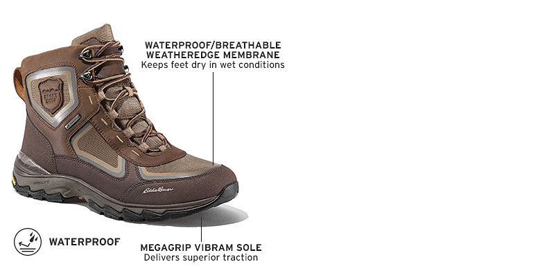 Waterproof boots for men