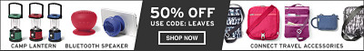 Shop Stowaway and Connect Super Deal 50% Off. Use Code: LEAVES