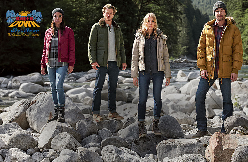 Eddie's Original jackets and parkas, now with a modern fit