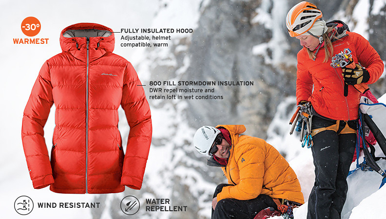 New Downlight Alpine Jacket for men and women
