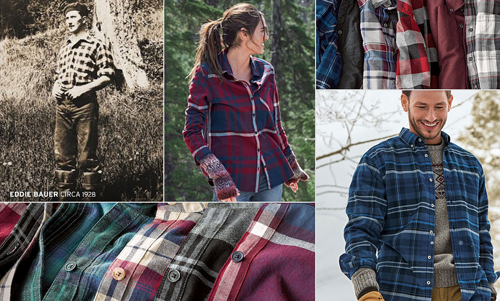 Flannel shirts for men and women
