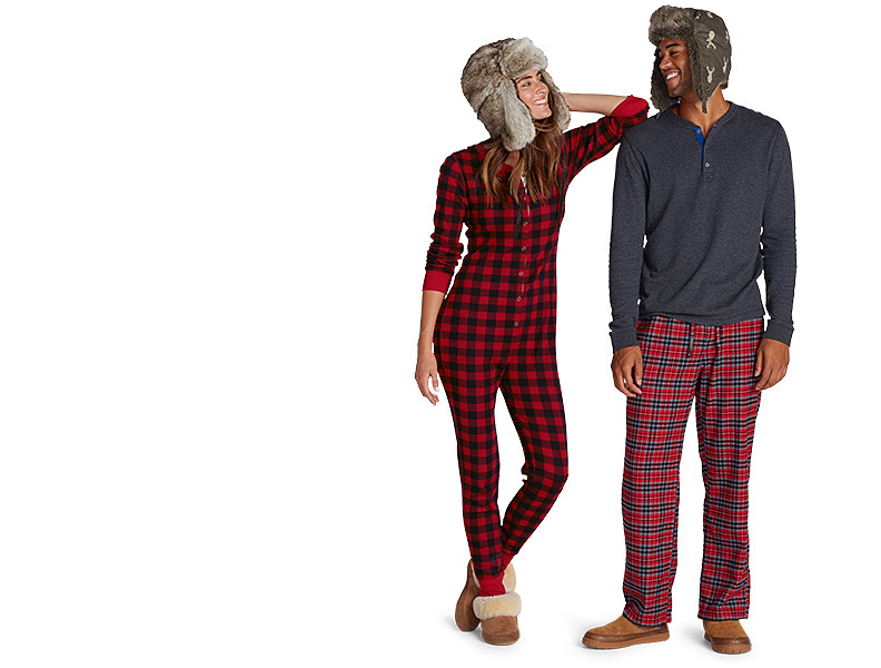 Sleepwear for men and women