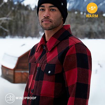 Bulman Creek Forester wool-blend jacket for men