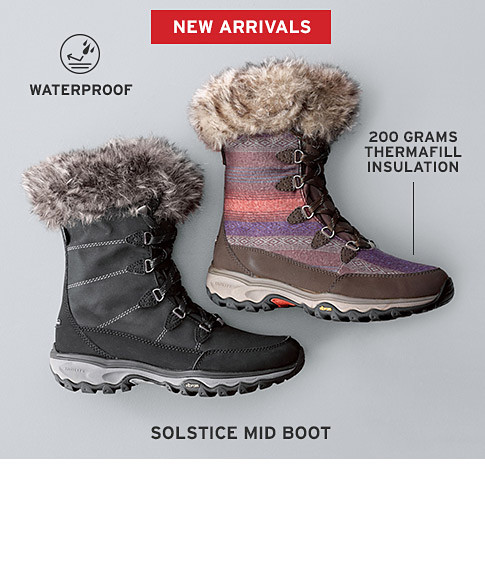 Cold weather boots for women