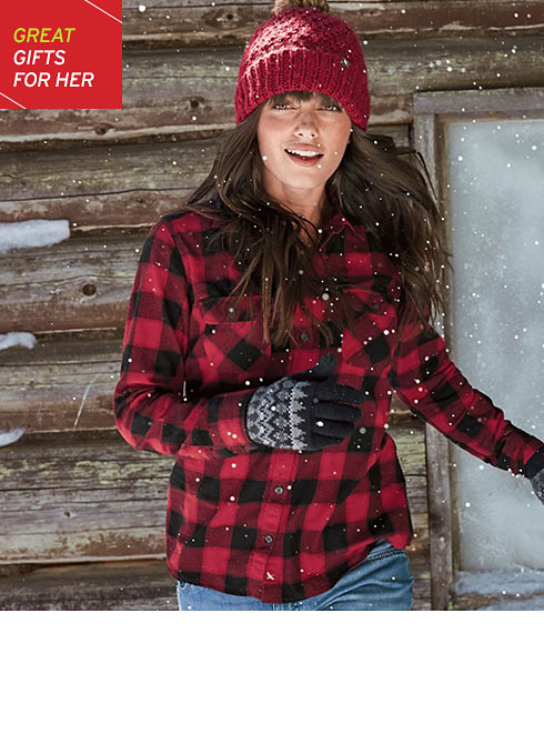 Flannel gifts for her
