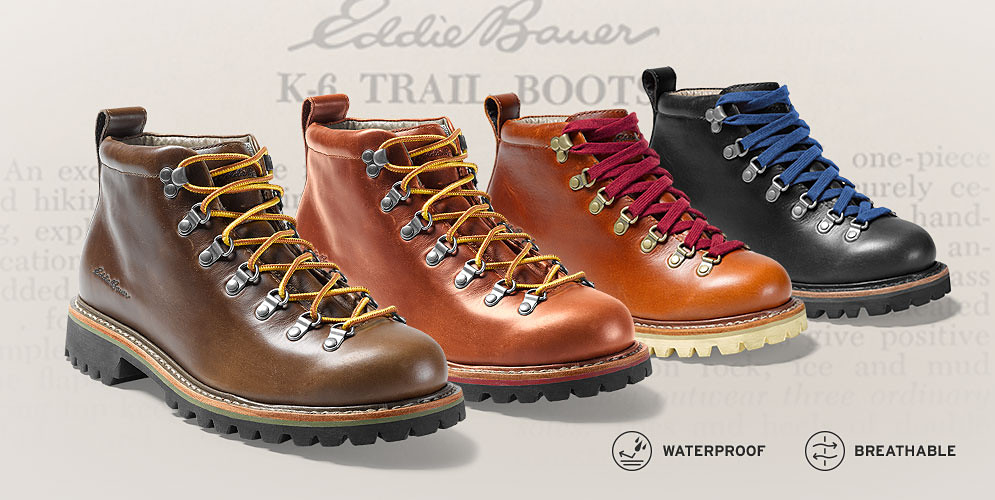 New K-6 leather boots for men and women