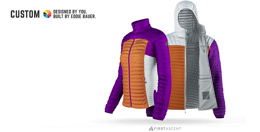 Custom MicroTherm Jackets in Clemson and Alabama football team colors