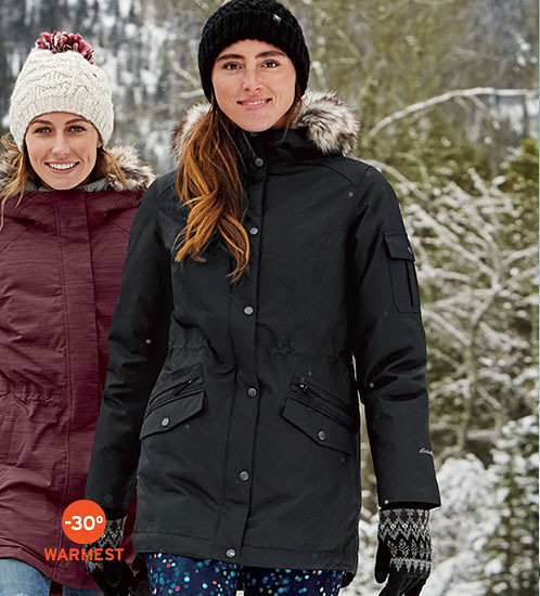 Superior Down Parka for women