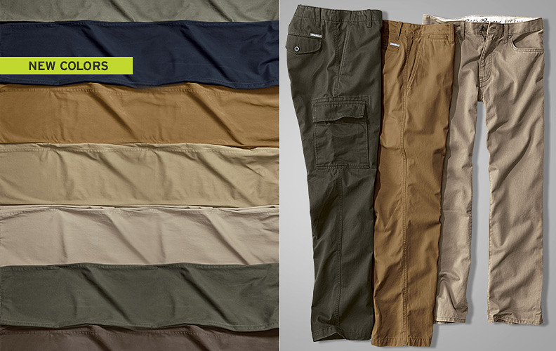 Legend Wash Chino pants for men.