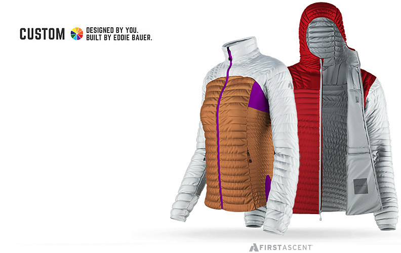Custom MicroTherm Jackets in Clemson and Alabama football colors