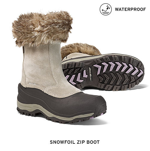 Waterproof, cold-weather boots for men and women