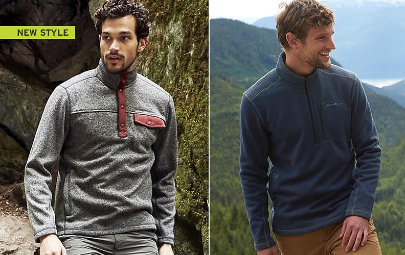 Radiator sweater fleece for men