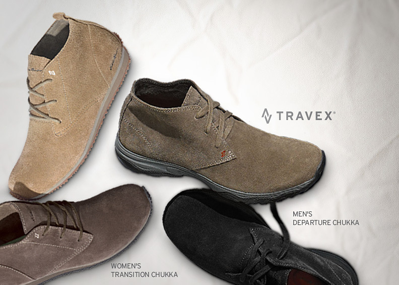 Departure Chukkas for men and Transition Chuckkas for women