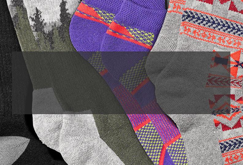 Coolmax performance socks for men and women