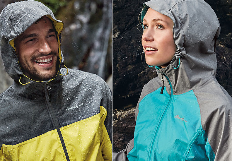 Cloud Cap Rain Jackets for men and women