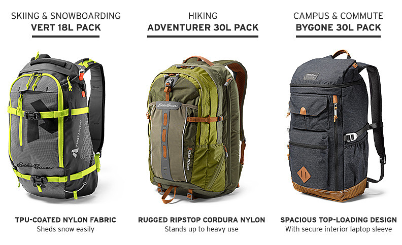 The best backpacks for every activity