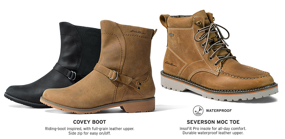 Boots for men and women
