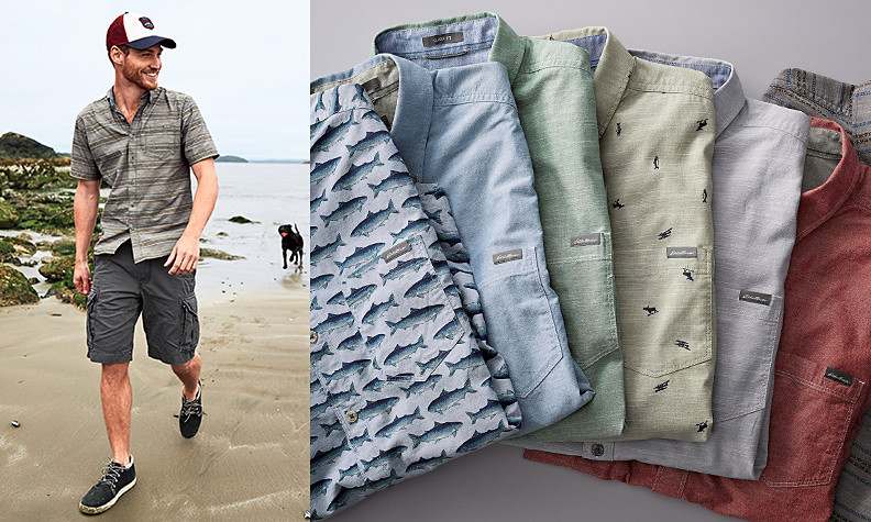 Men's Clothing and Accessories | Eddie Bauer