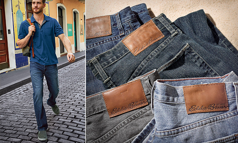 Authentic jeans for men