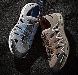 Image of men's and women's amphib shoes