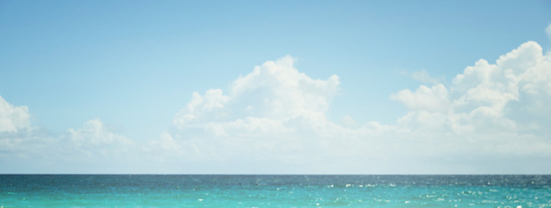 Background image of the ocean