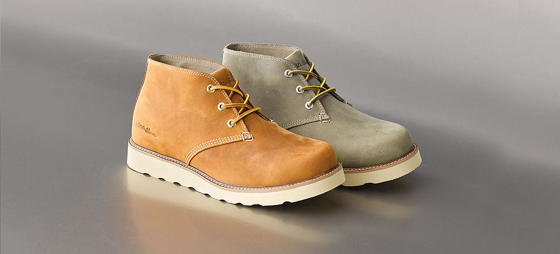 Men's K-4 Chukkas in different colors