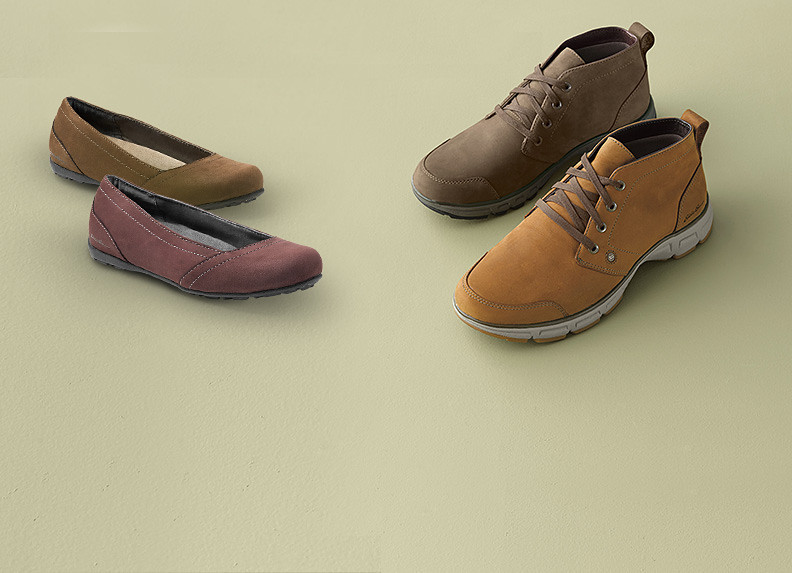 Men's and women's travel shoes