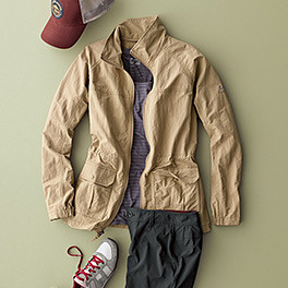 A image of all the pieces of a women's travel outfit