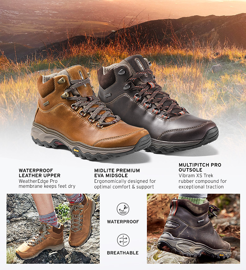 Features and details of the Carin Mid Hiker