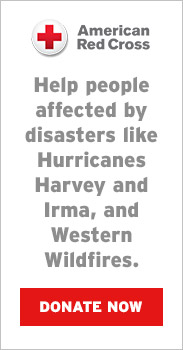 Help people affected by disasters like Hurricanes Harvey & Irma and Western Wildfires by making a gift to American Red Cross Disaster Relief efforts. Eddie Bauer will donate to the American Red Cross 100% of all donations.