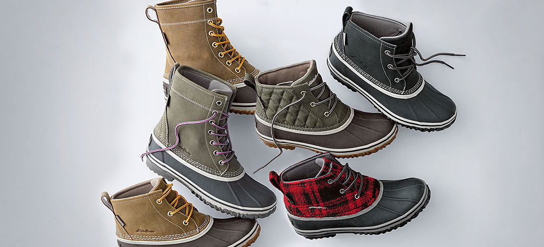 Women's Hunt Pac Boots in different colors and styles
