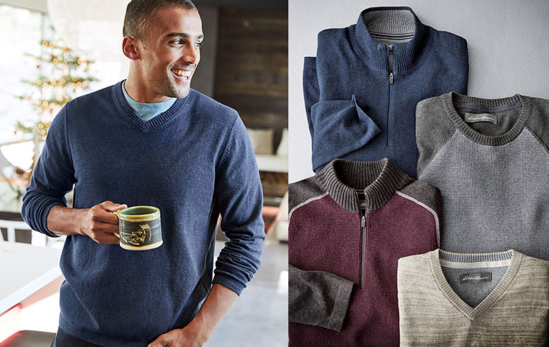 Sweater in different styles and colors