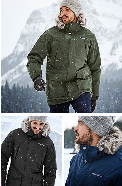 Different colors of the Superior Down Parka