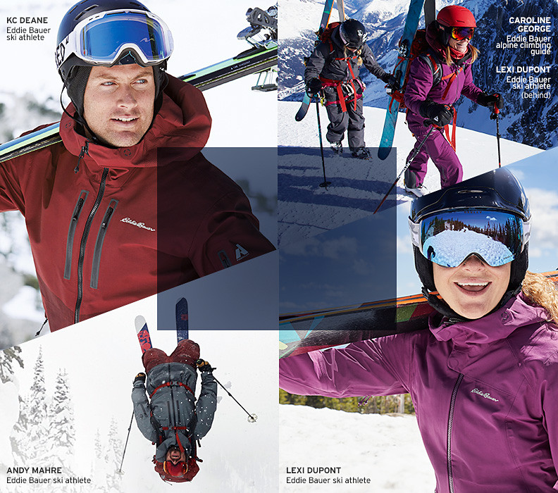 Ski apparel for men and woman