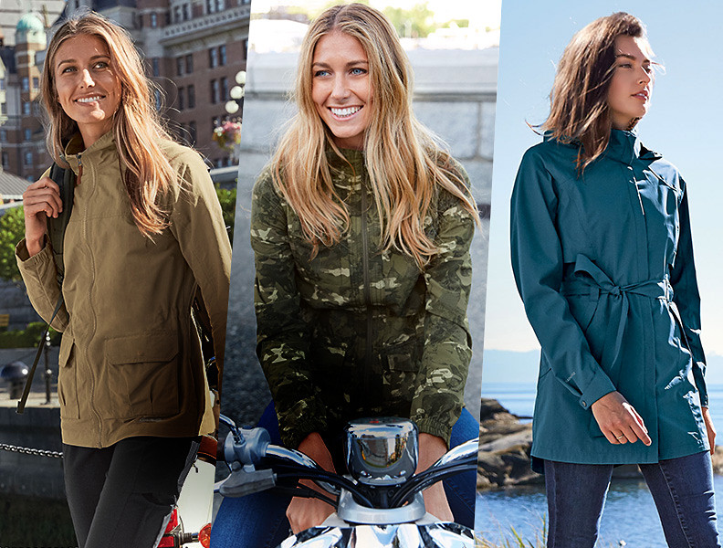 Different styles and colors of Travex Jackets