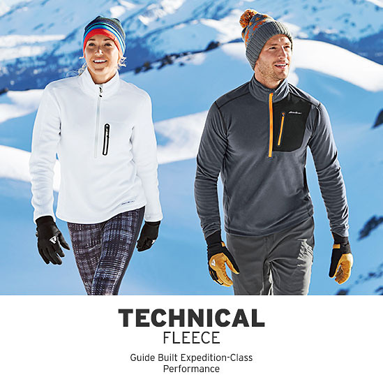 Two people wearing Cloud Layer Pro Fleece Pullovers