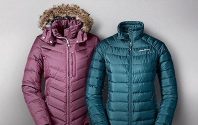 Sun Valley Down Parka and Downlight StormDown Jacket